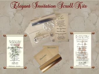 Buy online scroll kits do it yourself invitation scrolls buy online scroll kits do it yourself invitation scrolls parchments mailing tubes solutioingenieria Choice Image